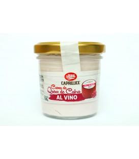 Ožkų pieno sūrio užtepėlė su raudonu vynu