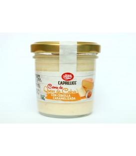 Ožkų pieno sūrio užtepėlė su karamelizuotais svogūnais