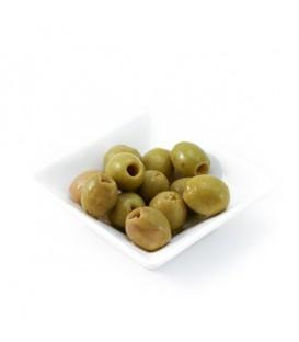 Ančiuvių skonio žalios alyvuogės 300 g