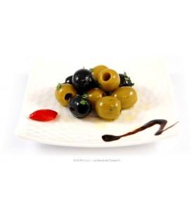 Itališkų alyvuogių asorti 300 g
