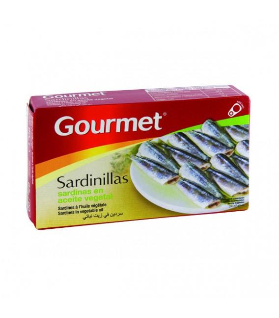 Mažos sardinės aliejuje