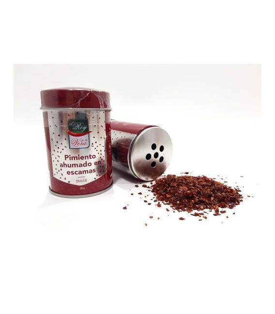 Švelni rūkyta paprika (dribsniai)