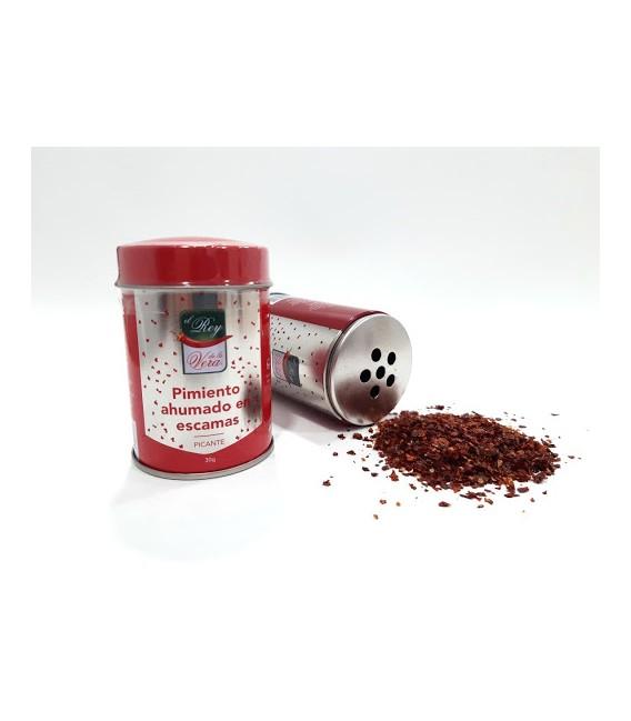 Aštri rūkyta paprika (dribsniai)