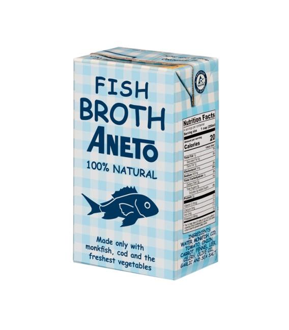 Aneto žuvų sultinys 1 l