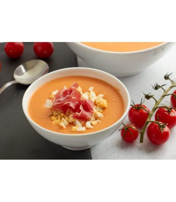 Salmorecho - pomidorų šaltsriubė