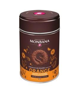 Apelsinų skonio karštas šokoladas