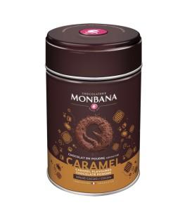 Karamelės skonio karštas šokoladas
