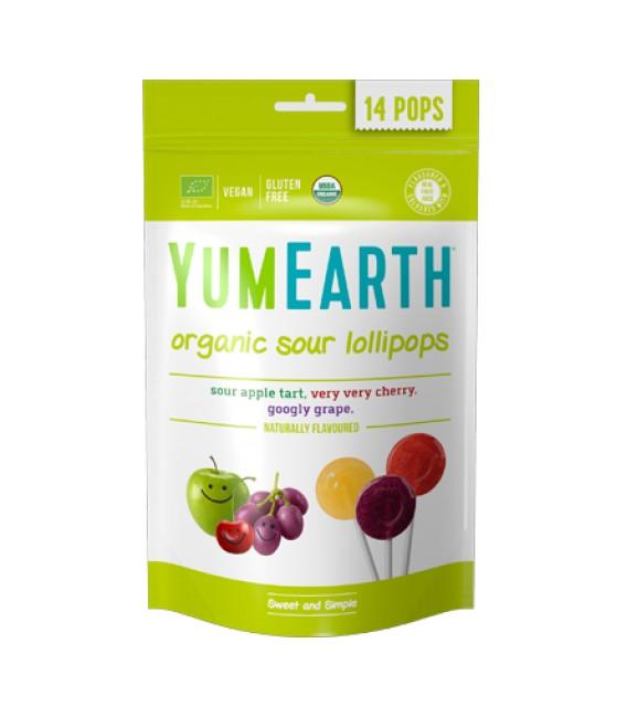 Ekologiški rūgštūs įvairių skonių ledinukai YumEarth
