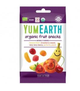 Ekologiški įvairių skonių guminukai YumEarth