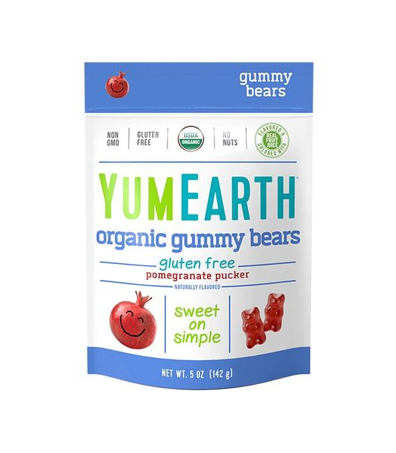Ekologiški granatų skonio guminukai YumEarth