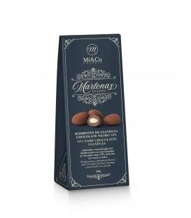 Marlonas. 70 % juodo šokolado gianduja