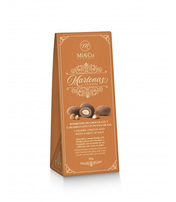 Marlonas. Karamelinis šokoladas ir druska